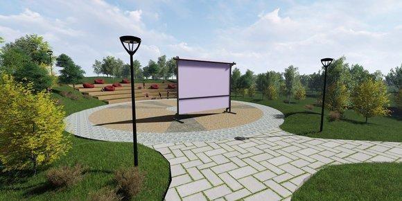 В парке «Дружба» откроется летний кинотеатр