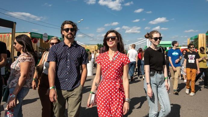 Фестиваль «Будь с городом» на Дворцовой площади