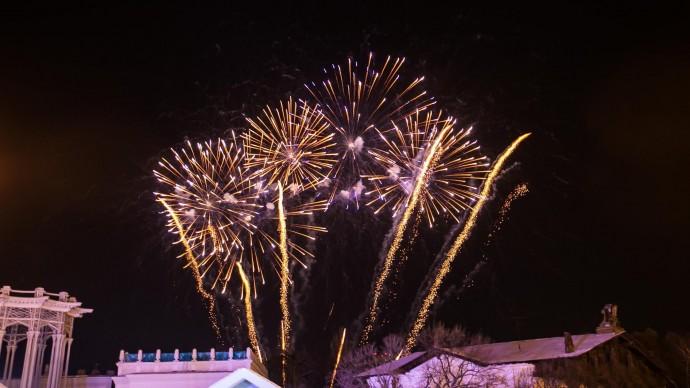 В новогоднюю ночь на ВДНХ пройдет шествие Дедов Морозов и концерт