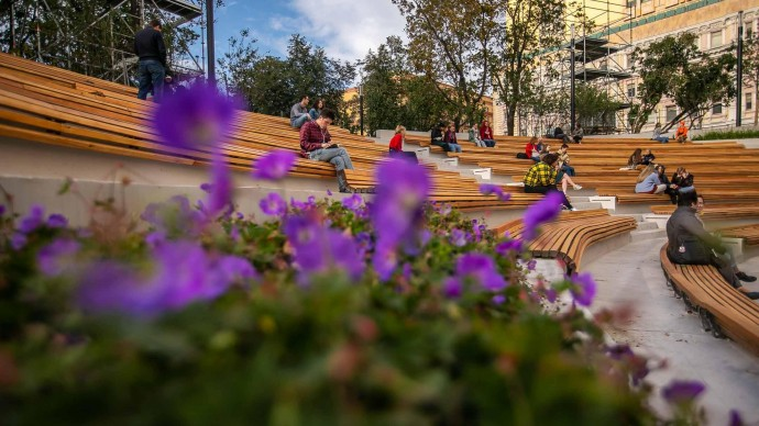На круглом столе «Цветочного джема» обсудят общественные пространства