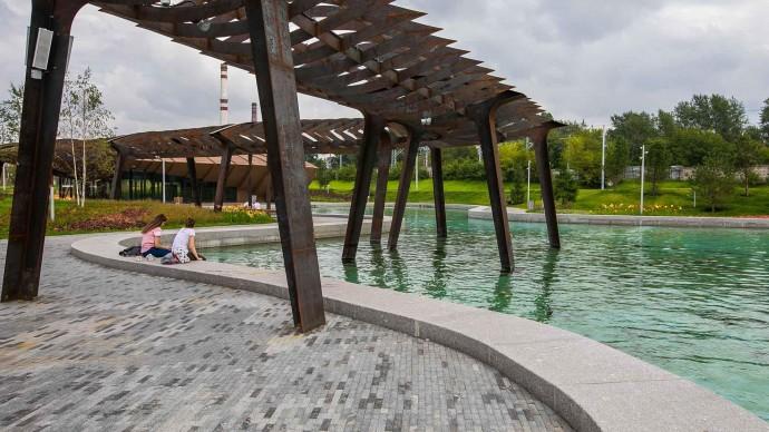 Прозрачный пешеходный мост свяжет «Тюфелеву рощу» и ЗИЛ