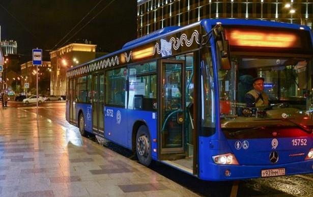 В Москве запустили два новых ночных автобуса