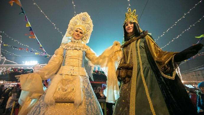 Венецианский новогодний карнавал в Бабушкинском парке