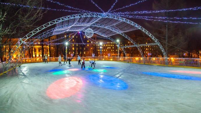 В Москве закрываются катки с искусственным льдом