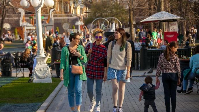 «День кроссминтона» в Парке Горького