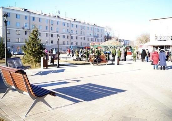 Сквер в центре Сормова открылся после благоустройства