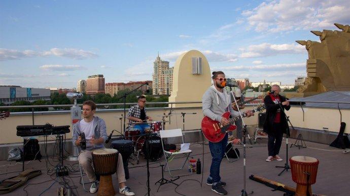 Объявлена программа августовских концертов на смотровой площадке Парка Горького