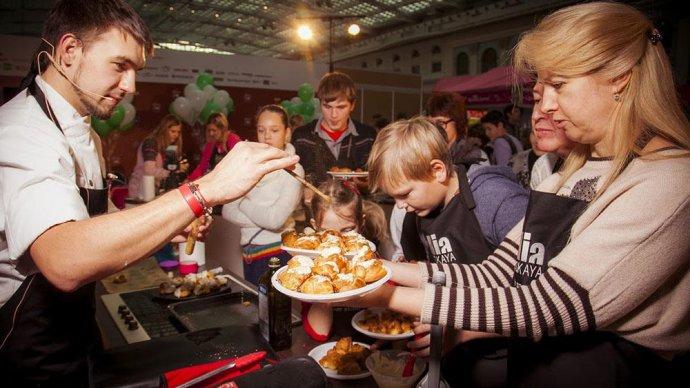 Food Show пройдет в «Сокольниках» в начале декабря