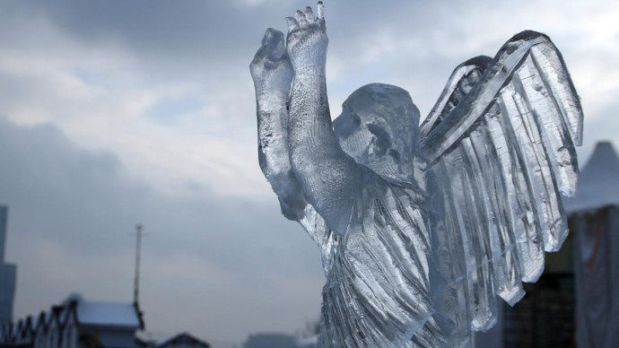 Звезды театра и кино создадут ледяные скульптуры в парке Победы