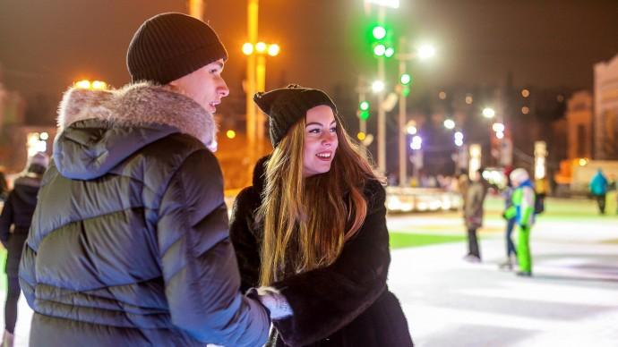 Главный ледовый городок откроется на площади 1905 года 28 декабря