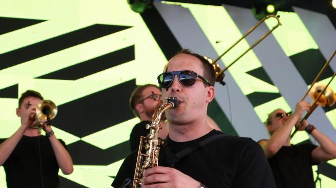 Фестиваль джаза в парке Горького