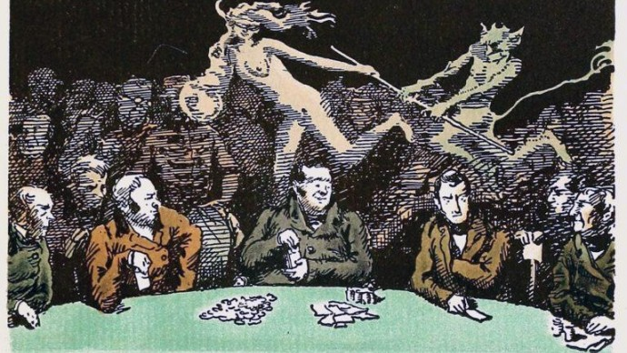 Выставка «Карты, деньги, два стола»