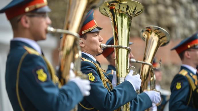 В столичных парках можно будет послушать военные оркестры