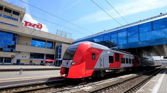 РЖД рассказали о строительстве скоростной магистрали между Москвой и Санкт-Петербургом