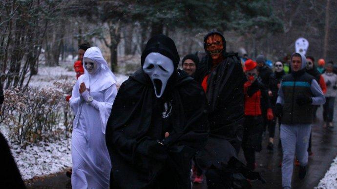 В парке «Кузьминки» проведут спортивный Хеллоуин