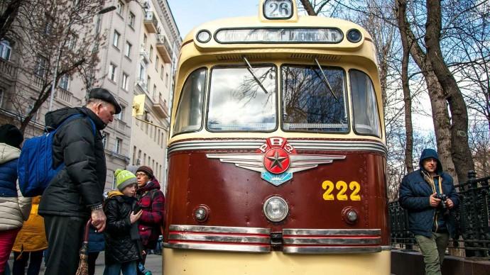 Московский парад трамваев-2019