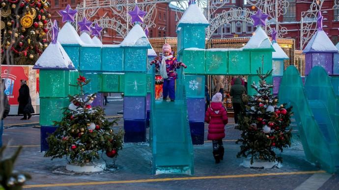 Письмо Деду Морозу можно отправить из парков Москвы
