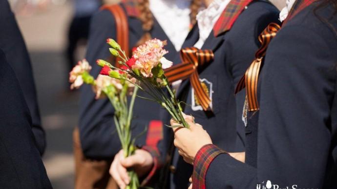 День Победы в саду Баумана
