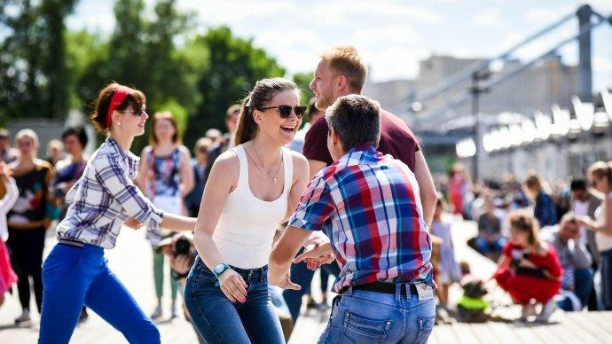 В парке Гагарина пройдут танцевальные мастер-классы