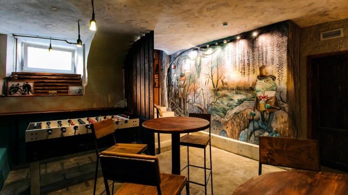 В Петербурге открылось кафе с домашними настойками и живой музыкой