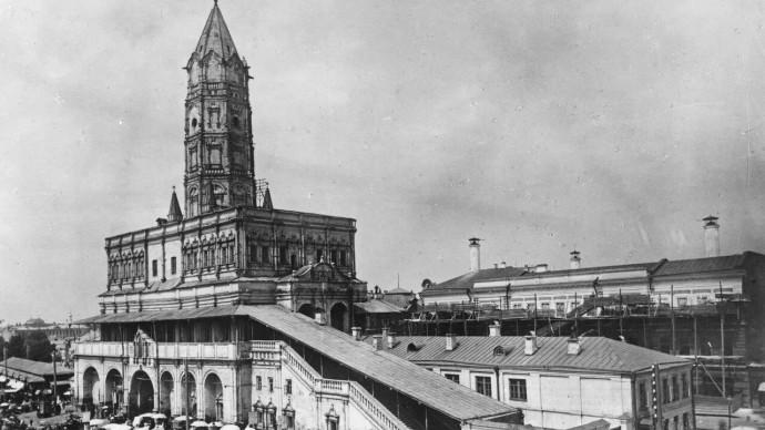 Выставка «Миф о Сухаревской башне» в Центре Гиляровского