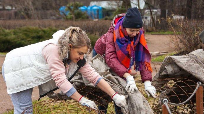 Субботники в московских парках повторят 29 апреля