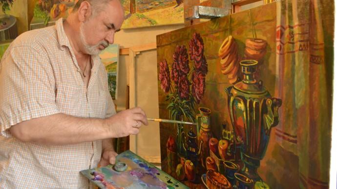 Фестиваль искусства с художником Сергеем Цыгановым в парке «Фили»