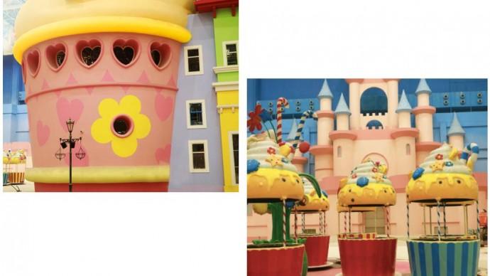 В парке «Остров Мечты» откроется площадка Hello Kitty