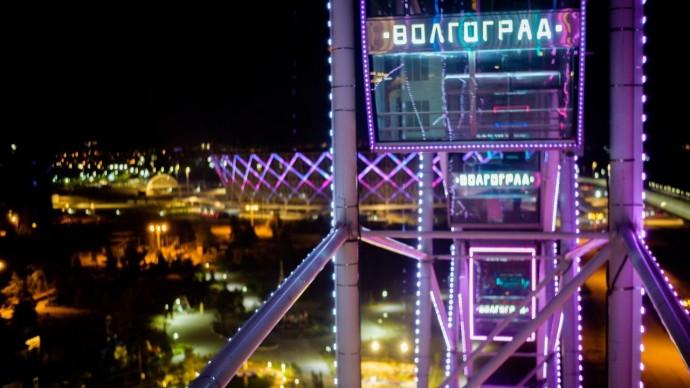 Волгоградские парки представили решения по светодизайну на международной выставке