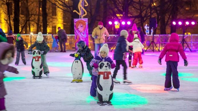 Открытый урок на льду с фигуристами состоится в усадьбе «Воронцово»