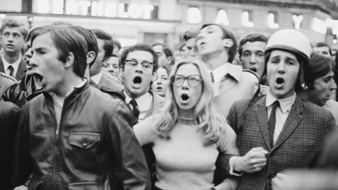 На выставке о парижских событиях 1968 года покажут фильмы и проведут интерактивную игру