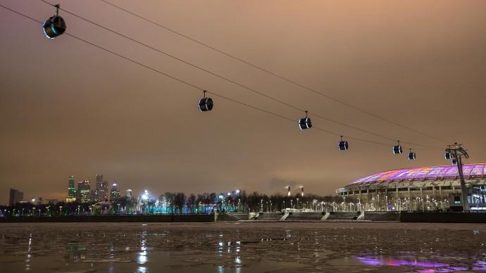 В Москве планируют построить еще 3 канатные дороги
