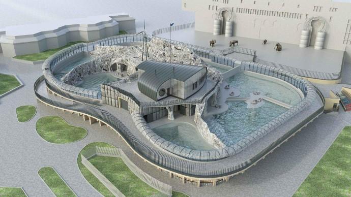 В 2021 году в Московском зоопарке откроется обновленный павильон «Ластоногие»