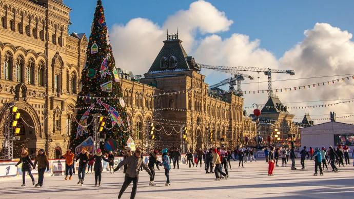 Главной темой катка на Красной площади станет воздухоплавание