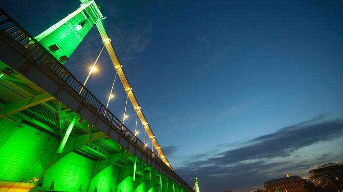 Вдоль набережной Москвы-реки появится подсветка
