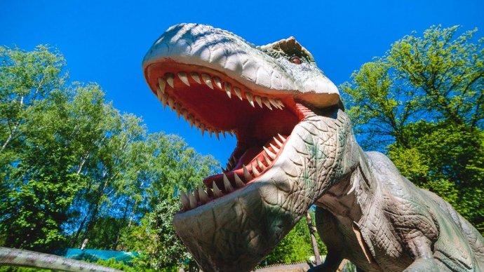 В Skazk'е открывают парк динозавров