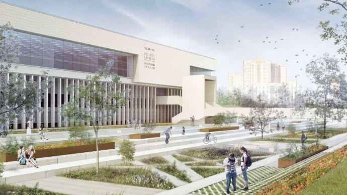 Рядом с ИНИОН РАН появится летний амфитеатр