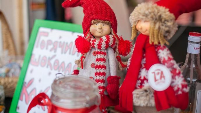 В центре Казани пройдет новогодняя ярмарка