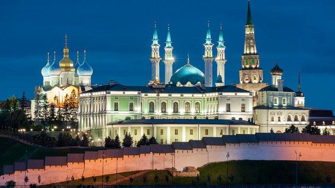 Казанский кремль станет площадкой светового шоу