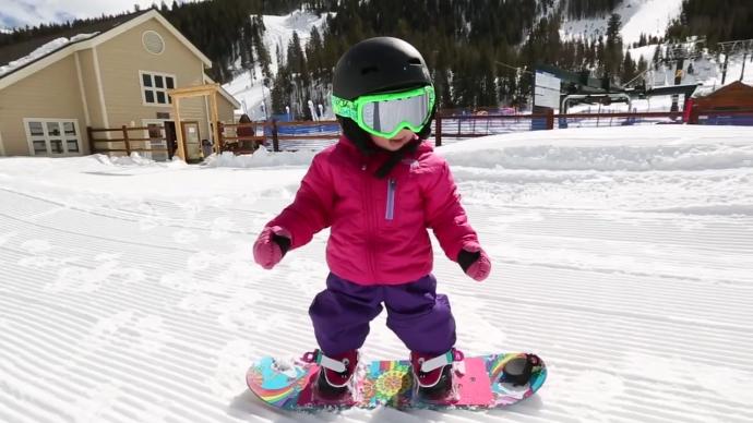 В парке Горького открывается детская школа сноубординга