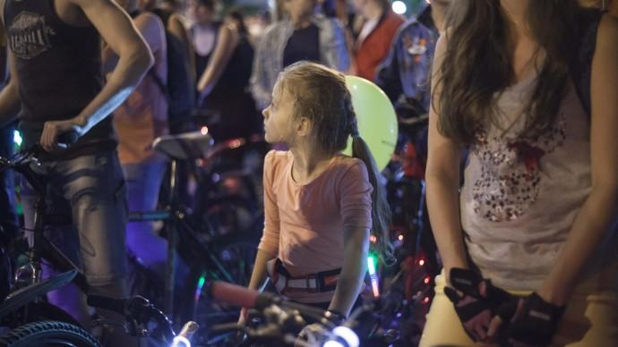 В Москве проведут четвертый Ночной велопарад