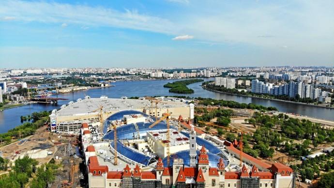 Строительство парка «Остров мечты» выходит на финальную стадию