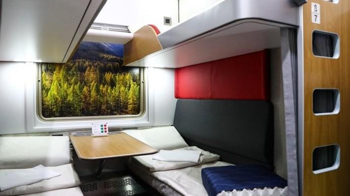 РЖД показали вагоны с душевыми кабинами и сейфами