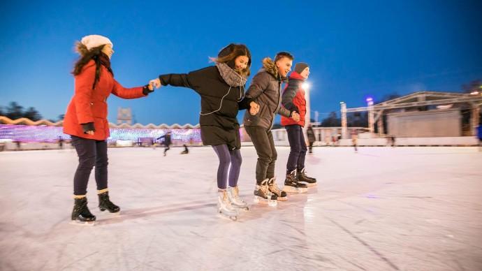 Праздничное мероприятие «Зима в классике» в парке «Сокольники»