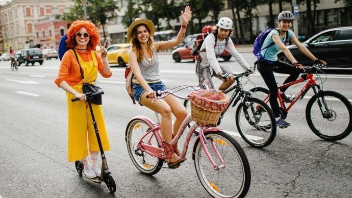 Из-за осеннего велопарада перекроют некоторые улицы столицы
