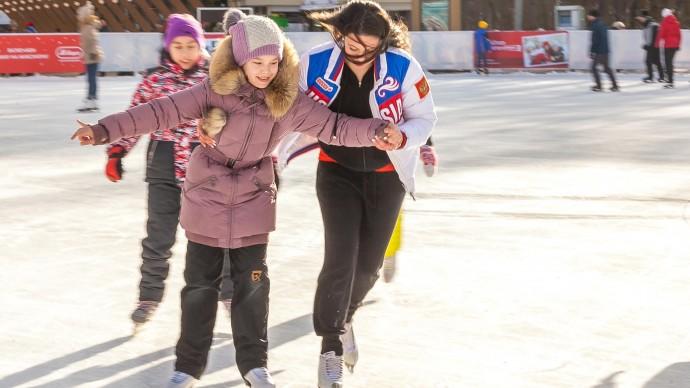 В «Сокольниках» отметят День зимних видов спорта c Аделиной Сотниковой