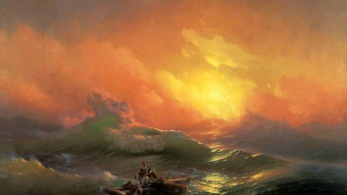 Третьяковская галерея продлила часы работы выставки Айвазовского