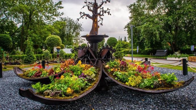 В двух столичных парках проведут Moscow Flower Show