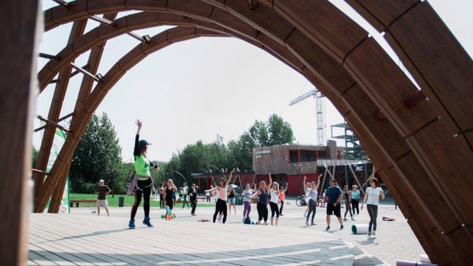 В парках Казани запускают бесплатные тренировки