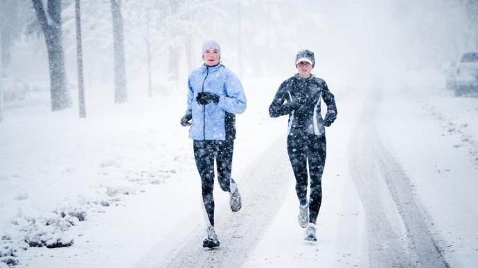 Почти 1000 человек участвовало в забегах 1 и 7 января